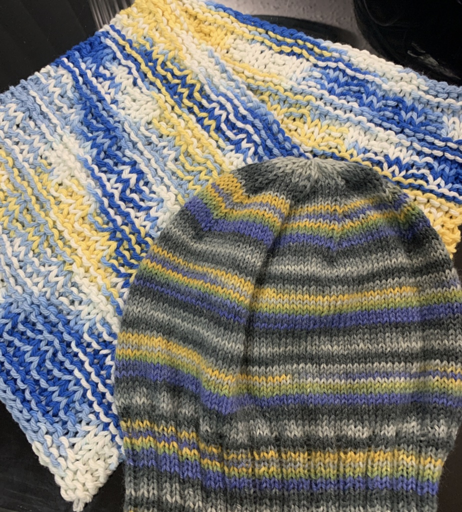 Dishcloths and Hat